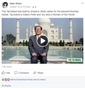 facebook post organic reach