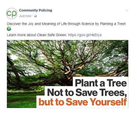 facebook page post organic reach